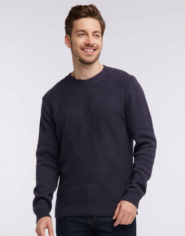 MUSTANG Diamonds Pullover Navy - 1005385/5381 - 2