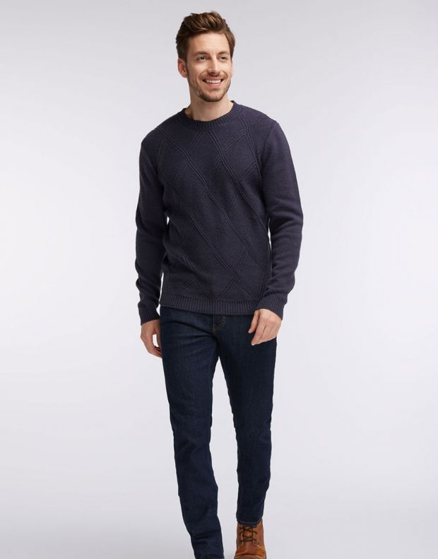 MUSTANG Diamonds Pullover Navy - 1005385/5381 - 7