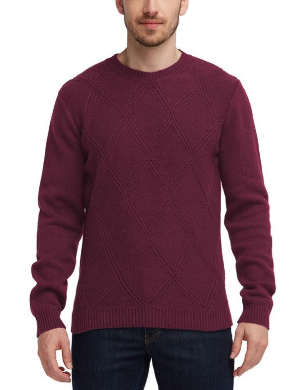 MUSTANG Diamonds Pullover Burgundy - 1005385/7227 - 1