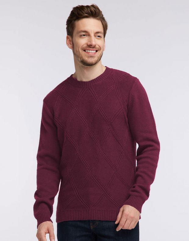 MUSTANG Diamonds Pullover Burgundy - 1005385/7227 - 2
