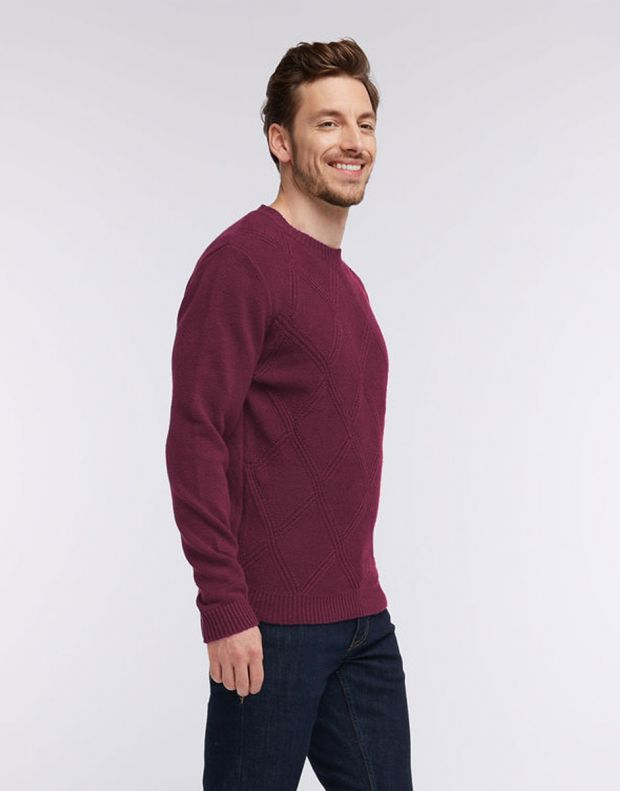 MUSTANG Diamonds Pullover Burgundy - 1005385/7227 - 4