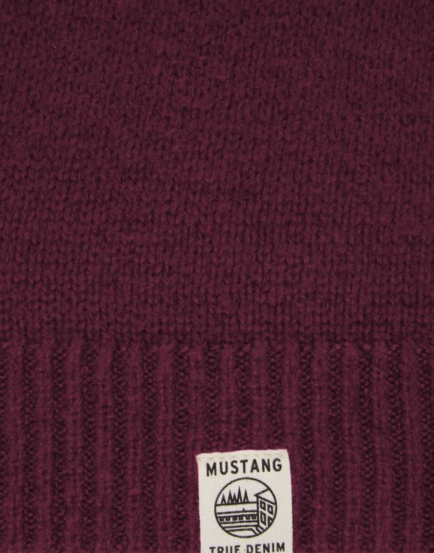 MUSTANG Diamonds Pullover Burgundy - 1005385/7227 - 6