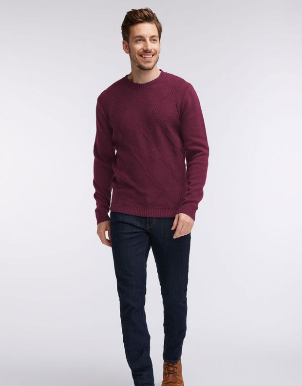 MUSTANG Diamonds Pullover Burgundy - 1005385/7227 - 7