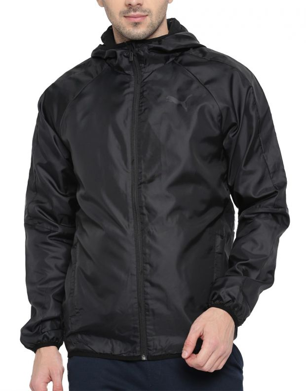 PUMA Essential Windbreaker Black - 594851-01 - 1