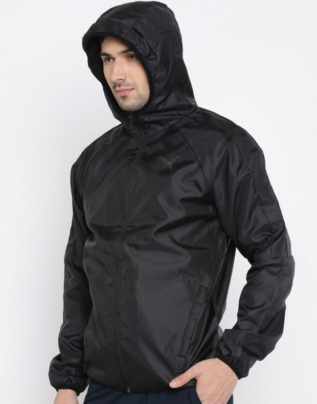 PUMA Essential Windbreaker Black - 594851-01 - 4