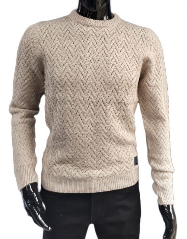 MZGZ Sacks Pullover Stone - sacks/stone - 1