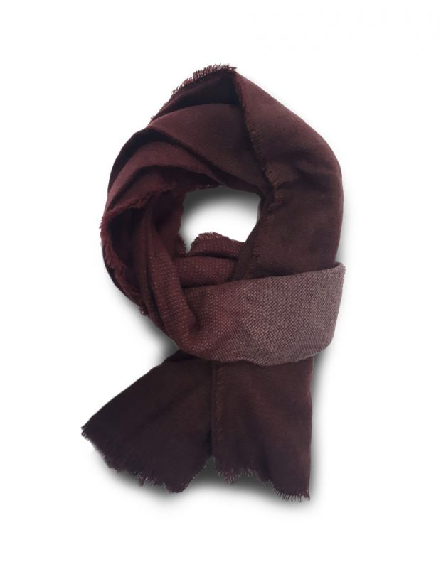 MZGZ Shaded Scarf Wine - shaded/wine - 1