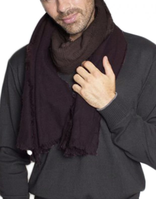 MZGZ Shaded Scarf Wine - shaded/wine - 2