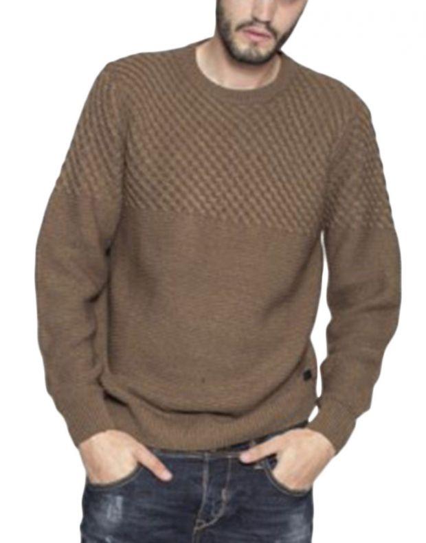 MZGZ Seldom Pullover Brown - 1