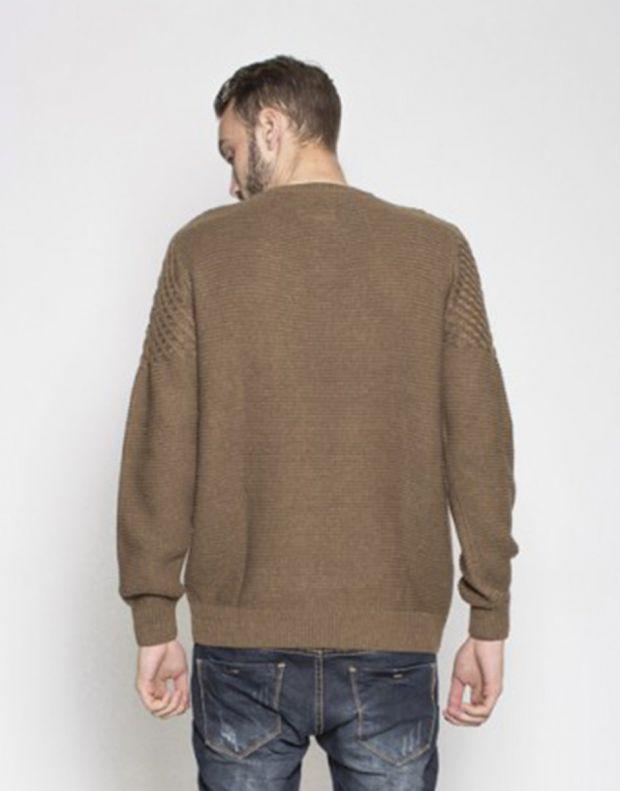 MZGZ Seldom Pullover Brown - 3