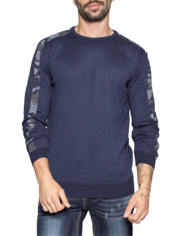 MZGZ Shock Pullover Blue - 1