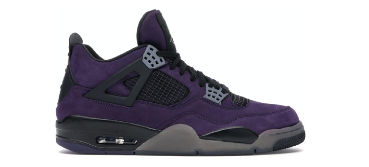 "Travis Scott x Air Jordan IV ""Purple Suede"""