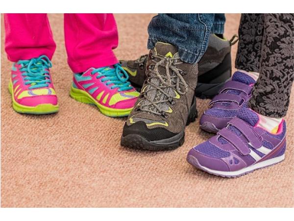 Как да изберем правилния размер обувки за нашето дете?